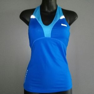 Reebok Play Dry Padded Workout Tank Top 2X…